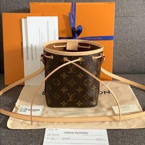 NEW Louis Vuitton Nano Noe Bag